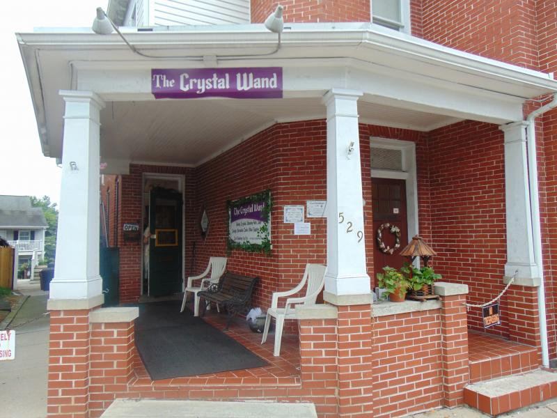 The Crystal Wand - metaphysical & crystal shop featuring